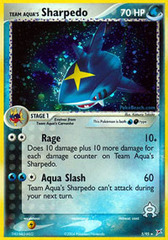 Team Aqua's Sharpedo - 5/95 - Holo Rare