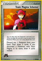 Team Magma Schemer - 70/95 - Uncommon