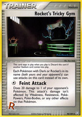 Rocket's Tricky Gym - 90/109 - Uncommon