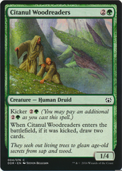 Citanul Woodreaders on Channel Fireball