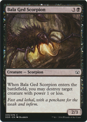 Bala Ged Scorpion on Channel Fireball