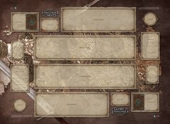 FFG Game of Thrones LCG Westeros 2 Player Playmat