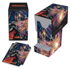 Ultra Pro - Commander 2016 PRO - 100+ Deck Box with Tray, Yidris, Maelstrom Wielder, for Magic