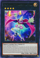 Performage Trapeze Magician - MP16-EN080 - Rare - 1st Edition