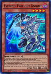 Evening Twilight Knight - MP16-EN124 - Super Rare - 1st Edition