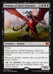 Demon of Dark Schemes - Foil (KLD)