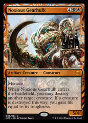Noxious Gearhulk (Masterpiece Foil) on Channel Fireball