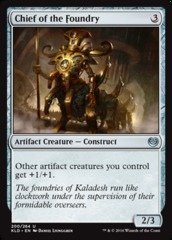 Chief of the Foundry - Foil (KLD)
