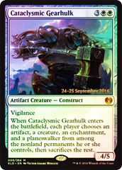 Cataclysmic Gearhulk - Prerelease Promo