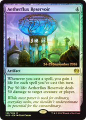 Aetherflux Reservoir (Kaladesh Prerelease Foil) on Channel Fireball