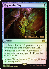Key to the City - Foil - Prerelease Promo