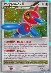 Porygon-Z LV.X - 100/100 - Rare Holo