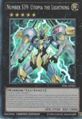 Number S39: Utopia the Lightning - TDIL-ENSE2 - Super Rare - Limited Edition