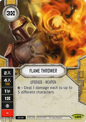 Flame Thrower (Sold with matching Die)