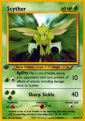 Scyther - 55/105 - Uncommon - 1st Edition