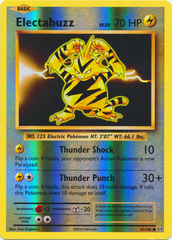 Electabuzz - 41/108 - Common - Reverse Holo
