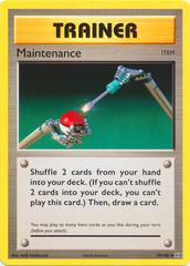 Maintenance - 79/108 - Uncommon