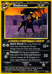 Umbreon - 32/75 - Rare - 1st Edition