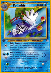 Poliwhirl - 44/75 - Uncommon - 1st Edition