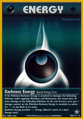 Darkness Energy - 104/111 - Rare - 1st Edition