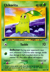 Chikorita - 53/111 - Common - 1st Edition