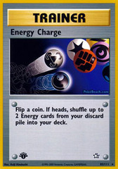 Energy Charge - 85/111 - Rare - 1st Edition