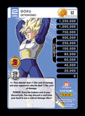 Goku - Determined - S2 - Foil