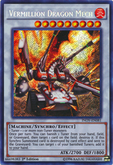 Vermillion Dragon Mech - INOV-EN081 - Secret Rare - 1st Edition