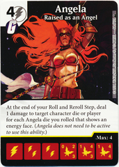 Angela - Raised as an Angel (Foil) (Die & Card Combo)