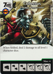 Colossus - Former Juggernaut (Foil) (Card Only)