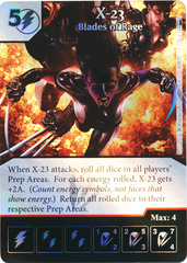 X-23 - Blades of Rage (Foil) (Die & Card Combo)
