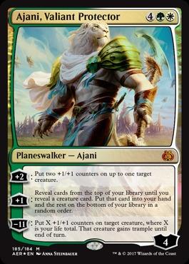 Ajani, Valiant Protector (Planeswalker Deck Foil)
