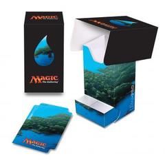 Ultra Pro - Magic the Gathering: Mana Series 5 Island Full View Deck Box with Tray