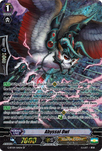 Abyssal Owl - G-BT09/S14EN - SP