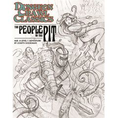 Dungeon Crawl Classics #68: People Of The Pit (Sketch Cover)
