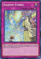 Solemn Strike - MP16-EN231 - Secret Rare - Unlimited Edition