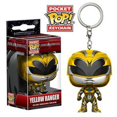 Pocket Pop! Keychain: Power Rangers (2017 Movie) - Yellow Ranger