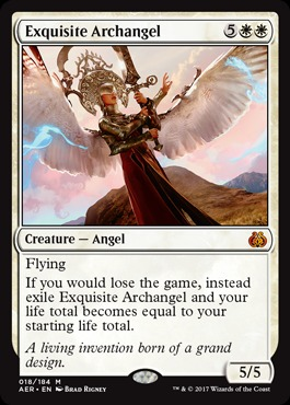Exquisite Archangel - Foil