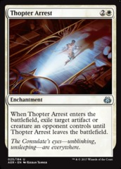 Thopter Arrest on Channel Fireball