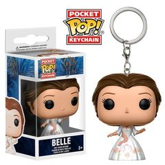 Pocket Pop! Keychain: Disney - Beauty And The Beast (2017) - Belle In Celebration Gown