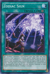 Zodiac Sign - RATE-EN058 - Common - 1st Edition