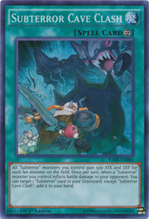 Subterror Cave Clash - RATE-EN085 - Super Rare - 1st Edition