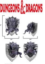 D&D Mind Flayer Trophy Plaque