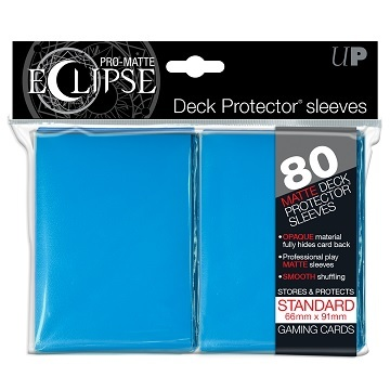 Ultra Pro: Eclipse Matte Light Blue Sleeves