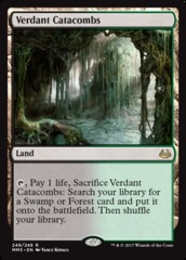 Verdant Catacombs on Channel Fireball