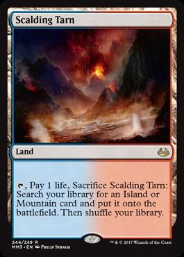 Scalding Tarn - Foil