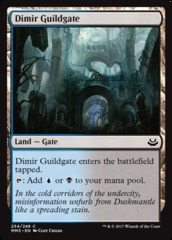 Dimir Guildgate - Foil (MM3)