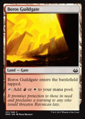 Boros Guildgate - Foil (MM3)