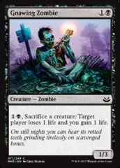 Gnawing Zombie - Foil