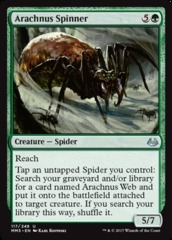 Arachnus Spinner on Channel Fireball